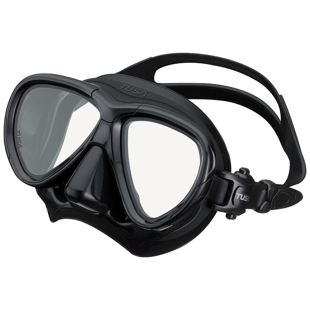 TUSA Intega Mask, Two Lens - Black/Black