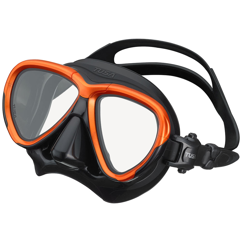 TUSA Intega Mask, Two Lens - Energy Orange/Black