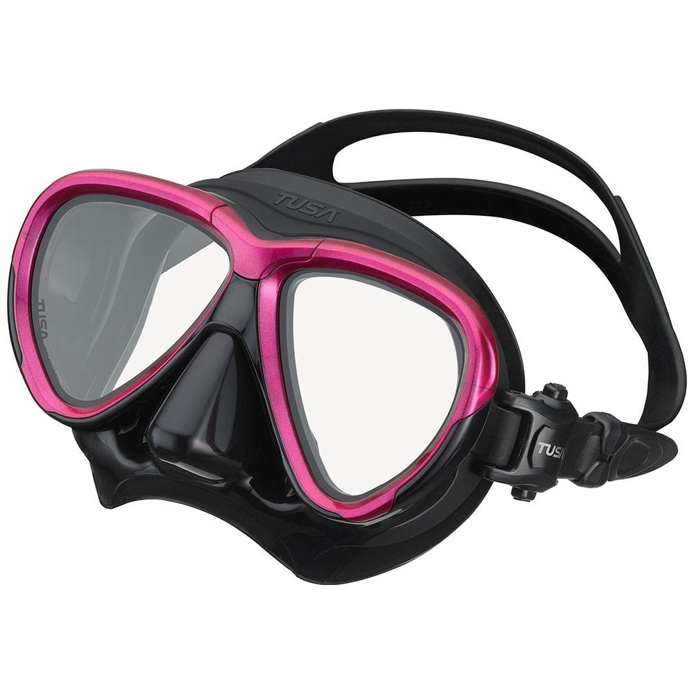 TUSA Intega Mask, Two Lens - Rose Pink/Black