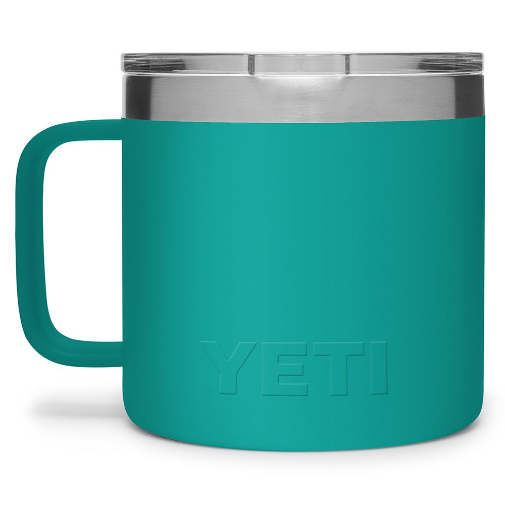 YETI Rambler 14 oz Mug with Magslider Lid Back