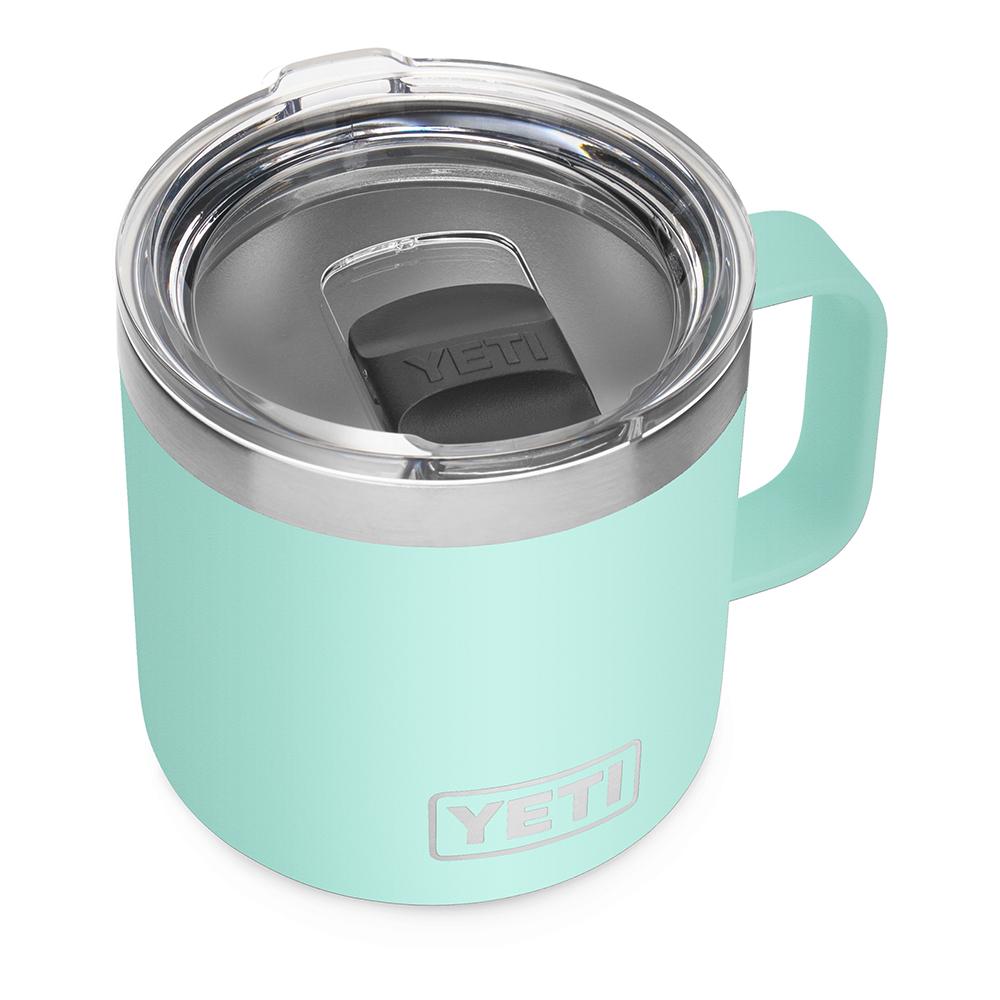 YETI Rambler 14 oz Mug with Magslider Lid - Seafoam