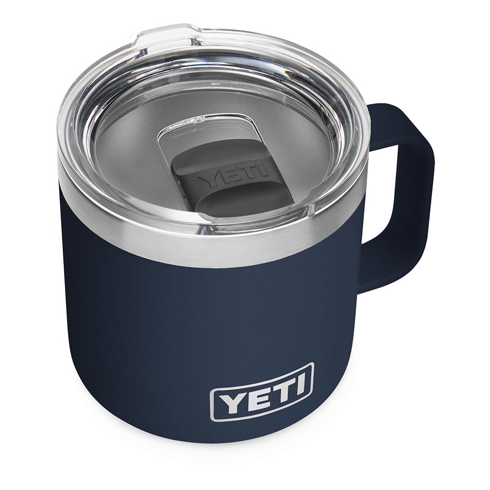 YETI Rambler 14 oz Mug with Magslider Lid - Navy