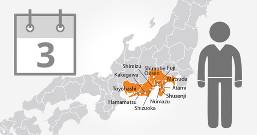 Mt. Fuji-Shizuoka Area Tourist Pass Mini - 3 Days - Adult