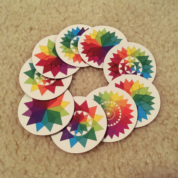 All 9 Stars of Creation -magnets