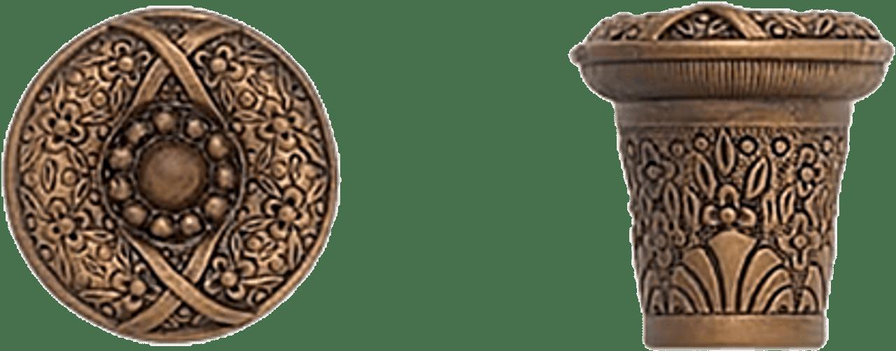 480mm L Floral drop applique large Decorative wooden moulding