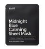 Klairs Midnight Blue Calming Sheet Mask - front of packaging.