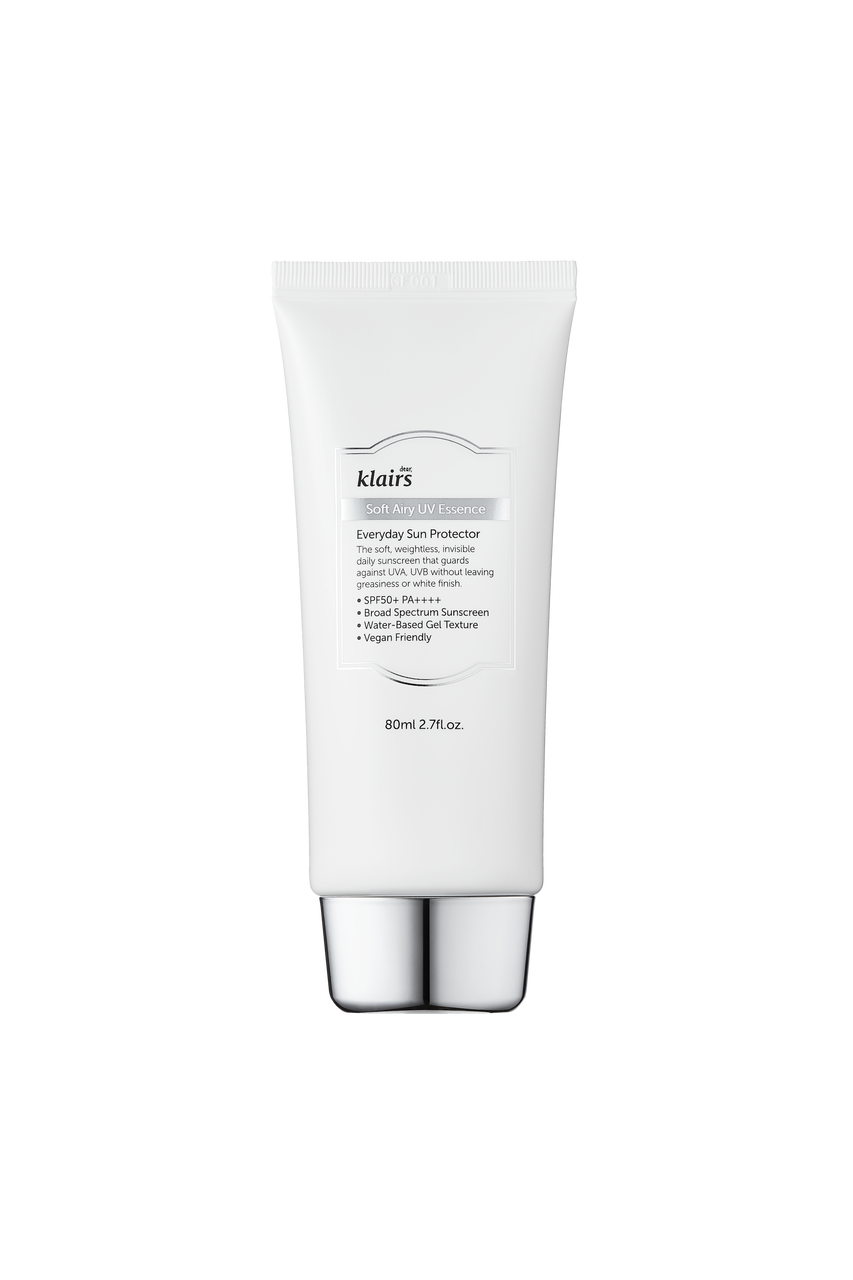 Klairs Soft Airy UV Essence SPF50+/PA++++: A wonderful everyday sunscreen that is suitable
