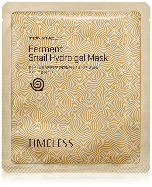 Tonymoly Timeless Ferment Snail Hydrogel Face Mask