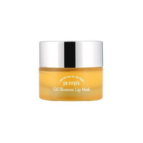 Petitfee Oil Blossom Lip Mask (Sea Buckthorn Oil) 15g