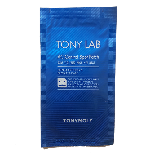 Tonymoly Tony Lab AC Control Spot Patch. Soothe and calm inflamed pimples overnight with these easy to use acne sticker spot patches.