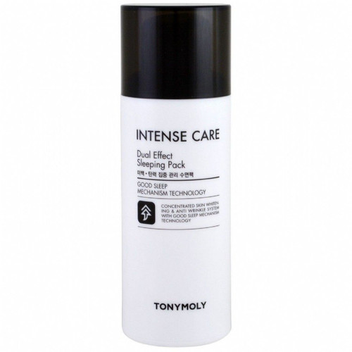 Tonymoly Intense Care Dual Effect Sleeping Pack (100 mL). Wake up to a complexion that is even-toned and hydrated with this nutrient-packed sleeping mask. Rich in antioxidants and other goodies that help to brighten and nourish dull skin.