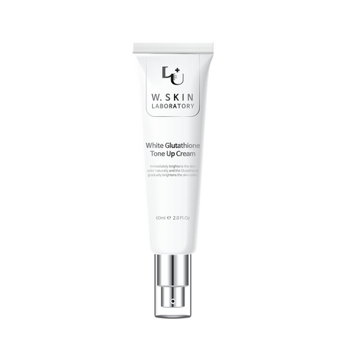 W.Skin Laboratory White Glutathione Tone Up Cream - a dual-functional cream that brightens the skin tone by fading away sun spots/hyperpigmentation and reduces the appearance of fine lines and wrinkles