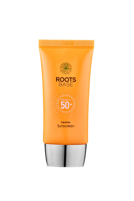 Roots Base Botanicals Aquamax Sunscreen SPF50+ PA++++: A lightweight, non-greasy sunscreen that blends into your skin with no white cast. Suitable for sensitive skin and is the perfect makeup base.