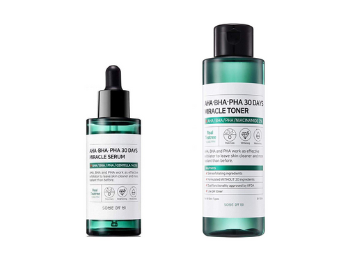 SOME BY MI AHA-BHA-PHA 30 days Miracle Toner and Serum 2-piece set