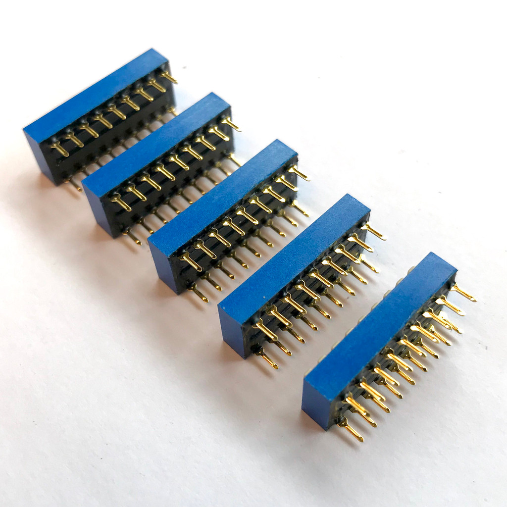 (PKG of 5) DIP Switch, 9 Position, SPDT, Gold Plated Contacts, ECE, EDG109S