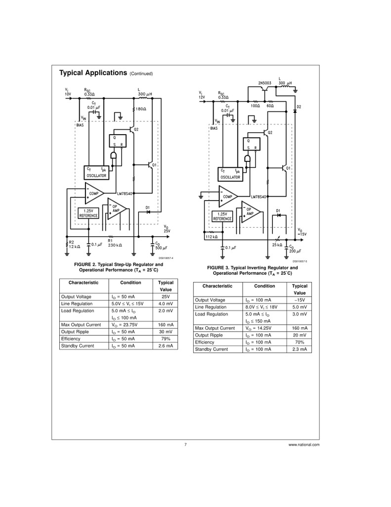 LM78S40CN Universal Switching Regulator Subsystem, PDIP-16, National