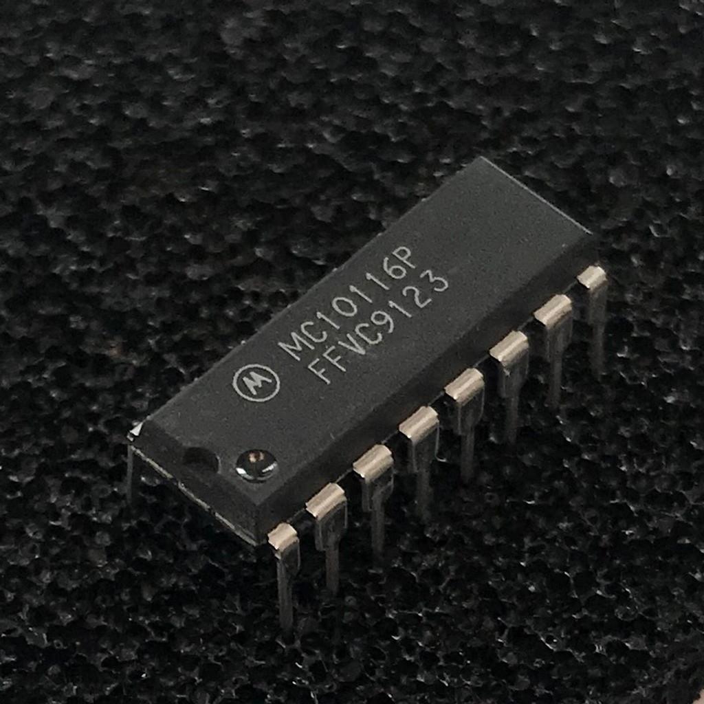(PKG of 5) MC10116P Triple Line Receiver, PDIP-16, Motorola