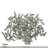 """(PKG of 100) 6-32 x 3/8"""" Socket Head Cap Screw, 18-8 Stainless Steel"""