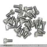 """(PKG of 25) 10-32 x 3/8"""" Socket Head Cap Screw, 18-8 Stainless Steel"""