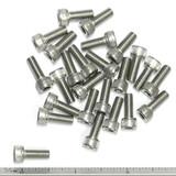 """(PKG of 25) 10-32 x 1/2"""" Socket Head Cap Screw, 18-8 Stainless Steel"""