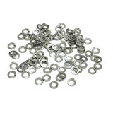 (PKG of 100) M3.5 Split Ring Lock Washer, A2 Stainless Steel, DIN 127B