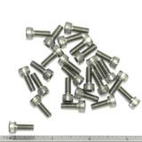"""(PKG of 25) 10-24 x 1/2"""" Socket Head Cap Screw, 18-8 Stainless Steel"""