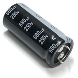Nichicon LGN2E681MELZ50 630uF 250V Snap In Electrolytic Capacitor