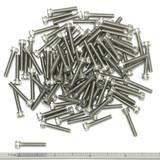 """(PKG of 100) 6-32 x 3/4"""" Socket Head Cap Screw, 18-8 Stainless Steel"""