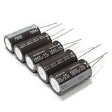 (PKG of 5) 1800uF 35V Electrolytic Capacitor, Radial, 105°C, Nichicon PM Series