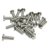 "(PKG of 25) 12-24 x 3/4"" Machine Screw, Phillips Pan Head, 18-8 Stainless Steel"