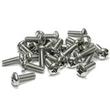 "(PKG of 25) 12-24 x 5/8"" Machine Screw, Phillips Pan Head, 18-8 Stainless Steel"