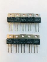 (PKG of 10) LM340T-5.0 Voltage Regulator, National, +5V, 1.5A, TO-220