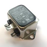 10 Amp 110/250VAC Power Line EMI Filter, Schaffner FN2010-10-06