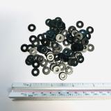 #6 Flat Washer, Black Oxide