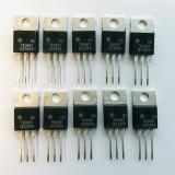(PKG of 10) MC7806BT Voltage Regulator, Motorola, 7806 +6V, 1A, TO-220