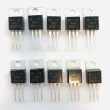 (PKG of 10) MC7808CT Voltage Regulator, ON, 7808 +8V, 1A, TO-220