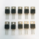 (PKG of 10) MC7905CT Voltage Regulator, ON Semi, 7905 -5V, 1A, TO-220
