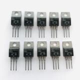 (PKG of 10) TIP116 PNP Darlington Transistor, -2A, -80V, SGS, TO-220