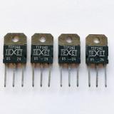 (PKG of 4) TIP140 NPN Darlington Transistor, 10A, 60V, TEXET, TO-218