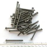 "(PKG of 50) 6-32 x 1-7/8"" Machine Screw, Slotted Pan Head, Stainless Steel"