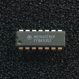 (PKG of 10) MC14012BCP Dual 4-Input NAND Logic Gate, CD4012, PDIP-14, Motorola