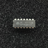 (PKG of 10) MC14011UBCP Quad 2-Input NAND Gate, CD4011, PDIP-14, Motorola