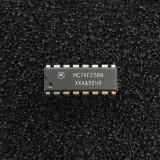 (PKG of 10) MC74F258N Quad 2-to-1 Data Select/Multiplexer, PDIP-16, Motorola