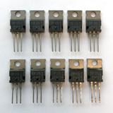 (PKG of 10) TIP115 PNP Darlington Transistor, -2A, -60V, TEXET, TO-220
