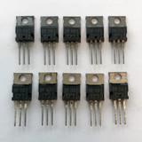 (PKG of 10) TIP116 PNP Darlington Transistor, -2A, -80V, TEXET, TO-220