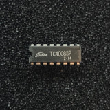 TC4008BP 4-bit Full Adder with Parallel Carry Out, CD4008, PDIP-16, Toshiba