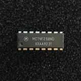 (PKG of 10) MC74F258ND Quad 2-to-1 Data Select/Multiplexer, PDIP-16, Motorola