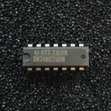(PKG of 10) SN74HCT00N Quadruple 2-Input NAND Gate, PDIP-14, Texas Instruments