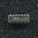 (PKG of 10) MM74C903N Hex Inverting CMOS Buffer, PDIP-14, National