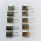 (PKG of 10) 7.68 MHz Crystal, ECS, HC-49U Package, 20pF